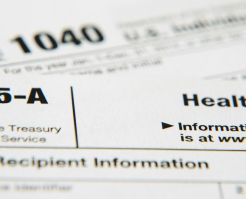 Obamacare IRS tax form 1095